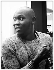 Son of... (Gonzo B.) Tags: noiretblanc blackandwhite afrobeat kuti seun musician africa fela
