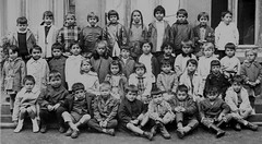 Class photo (theirhistory) Tags: school class form group photo boys children kids jacket shorts trousers jumper shoes wellies