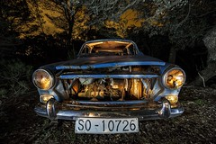 _MG_7500f (marcmarcoripoll) Tags: lightpainting car abandoned urbex nocturnas night noche longexpo amazing
