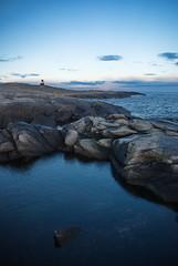 Et lite fyr -|- Small lighthouse (erlingsi) Tags: fyret lighthouse rundeisnaldn noreg nature herøy sunnmøre