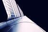 DB Schenker Zentrale (bauingenieuse) Tags: skyline hochhaus tower monochrom blue bauingenieuse canon 80d frankfurt frankfurtammain 2018 weitwinkel grosstadt hochhäuser city hightower sun clouds sonne blaue stunde himmel blau tokina 1224mm db schenker zentrale
