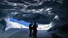 Metal works (Beppe Rijs) Tags: austria österreich alps alpen berg mountain snow schnee eis ice glacier gletscher ski dusk twilight blue frost winter cave white