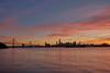 Colors of the Day (AgarwalArun) Tags: sanfransisco bay area california iconicbridge sony a7m2 sonyilce7m2 bayareacalifornia baybridge sunset sunlight ocean reflections