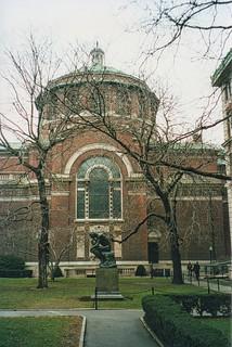 New York City - Manhattan - St Paul's Chapel - Morning Heights Campus - Columbia  University