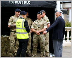 Royal Logistics Corps (* RICHARD M (Over 7 MILLION VIEWS)) Tags: street candid portraits portraiture streetportraits streetportraiture candidportraits candidportraiture britisharmy royallogisticcorps soldiers militaryuniforms uniforms army military militarymen camouflage berets rlc remembrance lestweforget armedforcesday servicemen armedforces smiles happy happiness pride proud patriots patriotism patriotic bulldogbreed southport sefton merseyside fun expressions