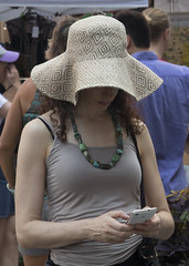 "Nice Women (CURZU@) Tags: dumbo robado bella nice ""nicewoman"" woman nyc usa newyorkcity newyork nuevayork hat mujer"
