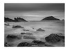 Mewstone Long Expo B&W_signed_border (Jason Bradshaw Photography) Tags: digitalphotography devon digital ocean outdoors blackandwhite blackandwhitephotography beach canon canonphotography capture canon400d contrast clouds coast cliffs canonuk monochrome moody mewstone wembury wemburybeach southwest sea sky slowshutterspeed seascape seascapephotography landscapephotography landscape landscapelovers longexposure