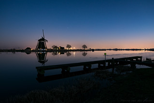 Blue Hour near River Rotte