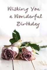 Birthday Quotes : Wishing you a Wonderful Birthday #Happy Birthday (omgquotes.com) Tags: quotes life love inspirational motivational