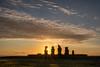 Ahu Vai Ure (W.R.Sircy) Tags: easterisland chile rapanui archeological history sunset