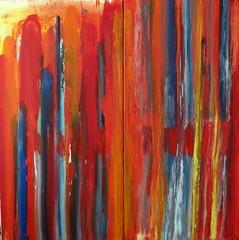 The heartbeat pendulum (Peter Wachtmeister) Tags: artinformel art modernart popart artbrut minimalart abstract abstrakt acrylicpaint surrealism surrealismus hanspeterwachtmeister