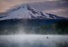 Shadow of a Giant (A Camera Story) Tags: sunrise volcano lake mthood mthoodnationalforest nationalforests oregon reflection trilliumlake sonydslta99 sony2470mmf28cz