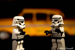 15/365 2018 Taxi For Two (crezzy1976) Tags: nikon d3300 nikkor40mm crezzy1976 photographybyneilcresswell photoaday 365 365challenge2018 day14 taxi stormtroopers lego starwars toy indoors closeup hmm figure