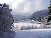 Kaltes Flatz / Cold Flatz (rudi_valtiner) Tags: flatz winter schnee snow wolken clouds wald forest bäume trees wiesen meadows dorf village häuser houses gebäude buildings flatzerwand landschaft landscape niederösterreich loweraustria österreich austria autriche gutensteineralpen alpen alps hügel hill fe
