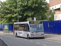 trent barton 465 Derby (Guy Arab UF) Tags: trent barton 465 fg02bgk optare solo m920 bus full street derby derbyshire wellglade buses wellgladegroup