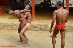 Kushti at Tulsi Ghat Akhara, Varanasi (Sekitar) Tags: uttar uttarpradesh india inde varanasi benares ganga ganges river riverside kushti wrestling shirtless tulsi ghat akhara