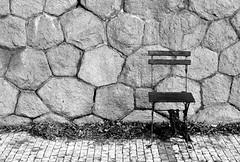 Chair (alzbet_j) Tags: nikonf4 filmcamera analogue bw chair