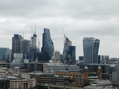 Cheesegrater (Leadenhall Building) and Walkie-Talkie (20 Fenchurch Street), from Switch House, Tate Modern, Bankside, Southwark, London (f1jherbert) Tags: lgg6 lgelectronicslgh870 lgelectronics lg g6 lgh870 electronics h870 londonengland london england uk unitedkingdom londongreatbritain greatbritain great britain londonunitedkingdom gb united kingdom
