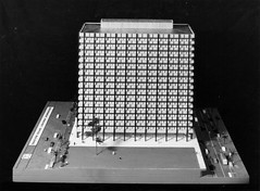 Government Offices Precinct George Street Model (Queensland State Archives) Tags: architecture model queensland archives qld history records 3d threedimensional car tree bus people georgestreet government offices precinct building skyscraper