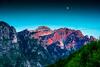 Sunset Sony a6300 (xhonimykaj) Tags: green tree nature landscape national mountain cool hike blue peak alps 4k wallpaper range beautiful moon blood sky clouds sony a6300 alpha collection rocky rocks sharp trekking scape explore