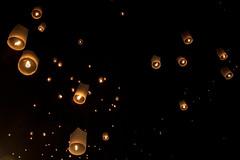 Lanterns flight (Lauro Meneghel) Tags: thailand lights lantern reflections fire newyeareve asia travel chiangmai night nightlight nightphotography canon 600d 24105f4isl hope wishes thai tailandia trip southeastasia exploring adventure world culture discover vibes sensations stunning emotions