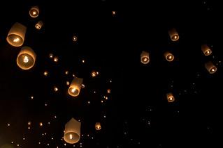 Lanterns flight
