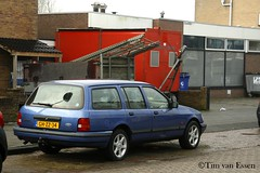 Ford Sierra Kombi - 1993 (timvanessen) Tags: ghzz34 wagon break estate station stationwagon