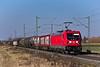 187 111 (DB) Eggolsheim (Fabian´s Eisenbahn Fotografie) Tags: bahn traxx3 br187 187 eggolsheim bamberg nürnberg kbs820 vde81 vde8 vde sonne brücke db cargo ice schenker