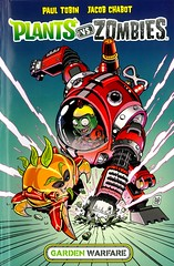 Garden Warfare (Vernon Barford School Library) Tags: paultobin paul tobin jacobchabot jacob chabot plantsvszombies plantsversuszombies plants zombies sciencefiction science fiction graphic novel novels graphicnovel graphicnovels vernon barford library libraries new recent book books read reading reads junior high middle vernonbarford fictional paperback paperbacks softcover softcovers covers cover bookcover bookcovers 9781506701011 comics cartoons