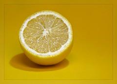 """Week 8 - 2018 """"Fruit"""" (Sandi (VERY busy lady)) Tags: fruit lighting lemon juicy cc wk8 fz1000 macro"""