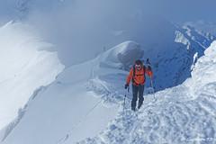 L'Arête de Roche Plane - Beaufortain (Goodson73) Tags: didier bonfils dgoodson goodson73 ski neige roche plane beaufortain randonnée