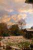 Dusk winter sky (d0mokun) Tags: snow winter foreboding skies dusk freezing