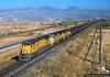 Black Butte Coal Train (jamesbelmont) Tags: saltlakecity coal unionpacific cbbvy blackbuttewyoming valmynevada c408 buenavista bangerterhighway westernpacific