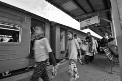 Sri_Lanka_17_396 (jjay69) Tags: srilanka ceylon asia indiansubcontinent tropical island buddhist galle galletrainstation platform travel travelling transport bw blackandwhite blackwhite monochrome singlecolour nocolour colourless grey withoutcolour