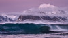 Capturing the wave (vandrende) Tags: napp nor nordland norway myrland lofoten norvege norge landscape paysage landskap tåa veggen himmeltindan storsandnessanden bølge wave vague pp p18