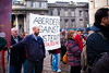 austerity (pamelaadam) Tags: aberdeen autumn digital scotland november 2011 antiracismmarch political people lurkation fotolog thebiggestgroup