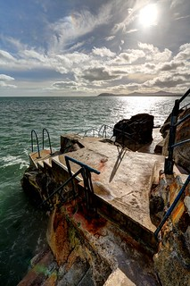 Rust Colours at Hawk Cliff...