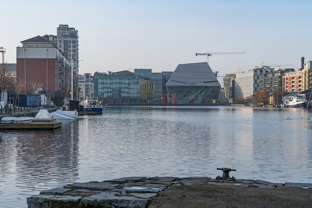 GRAND CANAL DOCK AREA OF DUBLIN [PHOTOGRAPHED 11 JANUARY 2018]-135423