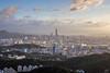 俯瞰台北市 (啊痛) Tags: taiwan taipei101 canon clouds 台灣 台北101 台北盆地 101夕陽 碧山巖 內湖