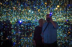 Infinity Room (Robert Borden) Tags: infinityroom yayoikusama thebroad downtown la losangeles lalaland socal cali california west usa northamerica canon canonrebel canonphotography 50mm amazed blownaway