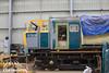 D7029 undergoing a facial (CS:BG Photography) Tags: class35 hymek brblue d7029 overhaul svr severnvalleyrailway kidderminster kidderminstertmd kr depot