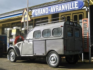 1958 CITROËN AZU Fourgonnette