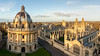 Radcliffe Camera & All Souls College (matrobinsonphoto) Tags: radcliffe camera all souls college oxford university oxfordshire church st mary virgin saint building architecture buildings blue sky evening sunset sunlight sun light golden hour shadow shadows bodleian library dome beautiful historic city town uk england