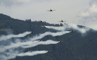 Swiss Air Force on Pilatus PC-7 @ LOXZ