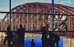 Rusty Bridge View (Hi-Fi Fotos) Tags: pittsburgh railroad bridge rusty steel rustbelt view people silhouette window allegheny river city urban grit nikkor 1755 28 nikon d7200 dx hififotos hallewell