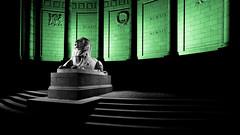 War memorial, Aberdeen-6.jpg (___INFINITY___) Tags: 2018 6d aberdeen bw godoxad360 toourgloriousdead architect architecture art blue building canon canon1740f4 color cowdrayhall darrenwright dazza1040 eos flash granite infinity light lightpainting lion magiclantern night red scotland sculpture statue stone strobist uk warmemorial wideangle