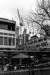Southbank Place (from SBS) - 10.2.18 (Ryan Trower Photography) Tags: skyscrapers london nikon d5300 architecture construction black white building structure skyscraper lines sky monochrome geometric city urban street tower facade concrete glass towers photography architect architects residential commercial sigma samyang nikond5300 londonarchitecture londonconstruction southbank southbankplace variousarchitects