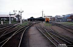 3141 Perth Carraige Sheds 4 July 1982 (RailWA) Tags: railwa philmelling westrail 1982 perth carraige sheds