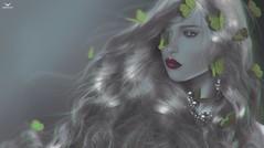 Breezy~ButterflyStorm... (Skip Staheli *FULLY BOOKED*) Tags: breezycarver skipstaheli secondlife sl avatar virtualworld portrait closeup butterflies close hair glamour glam