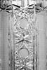 Detail of hand cut crystal vase (b&w) (WillemijnB) Tags: black bw vase bohemian crystal czech antique vintage old elegant